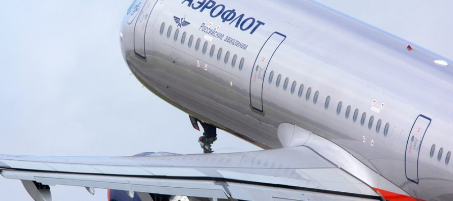Aeroflot passenger traffic Up 16.3% in 10 months of 2017