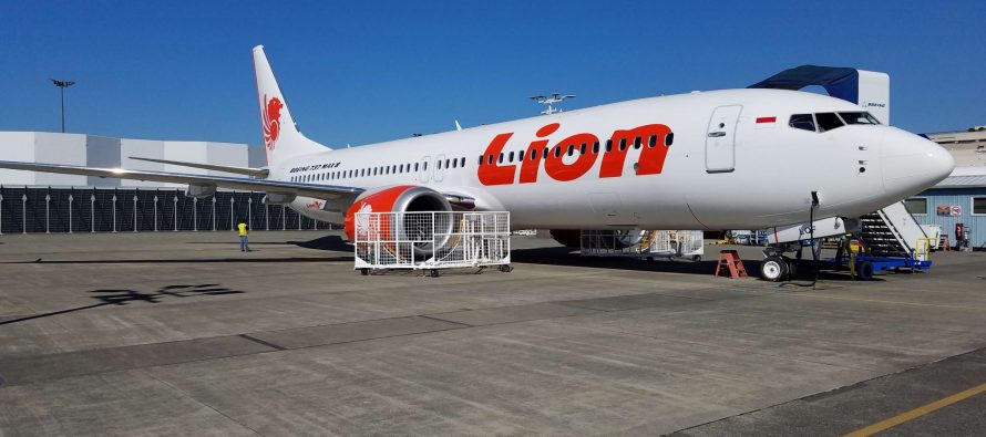 Avolon delivers one Boeing B737 MAX 8 to Lion Air