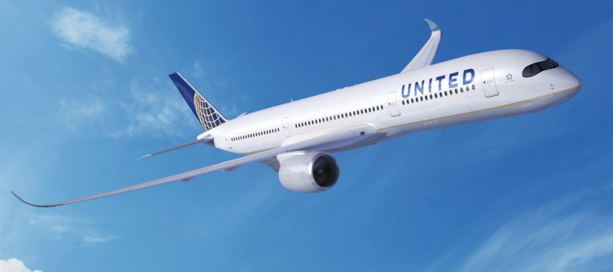 United Airlines increases A350 XWB order to 45