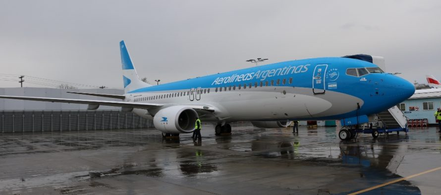 Aerolíneas Argentinas takes delivery of its First 737 MAX