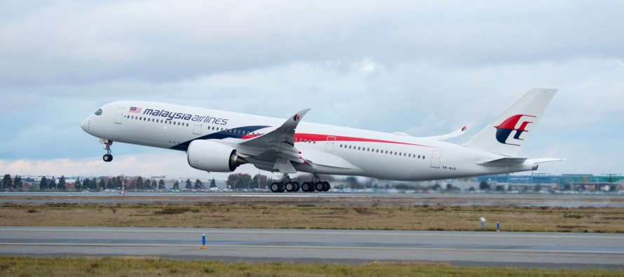 Malaysia Airlines takes delivery of its first A350 XWB