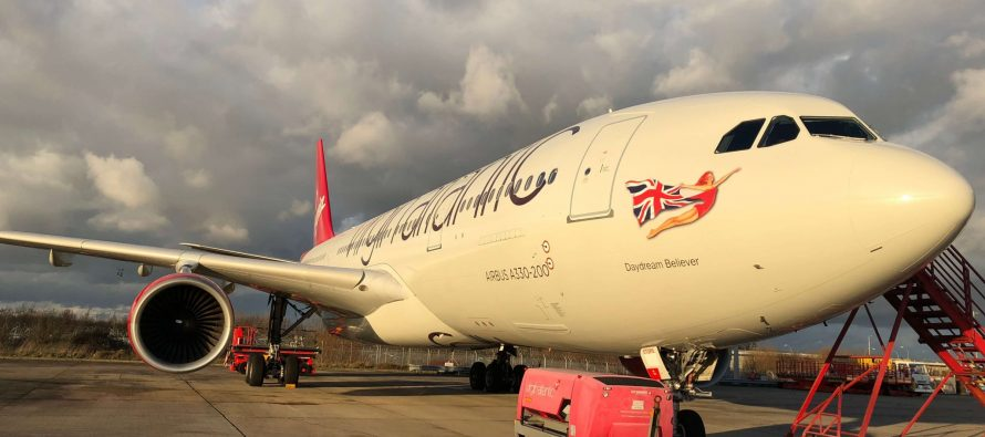 Virgin Atlantic unveils first of four new A330-200s
