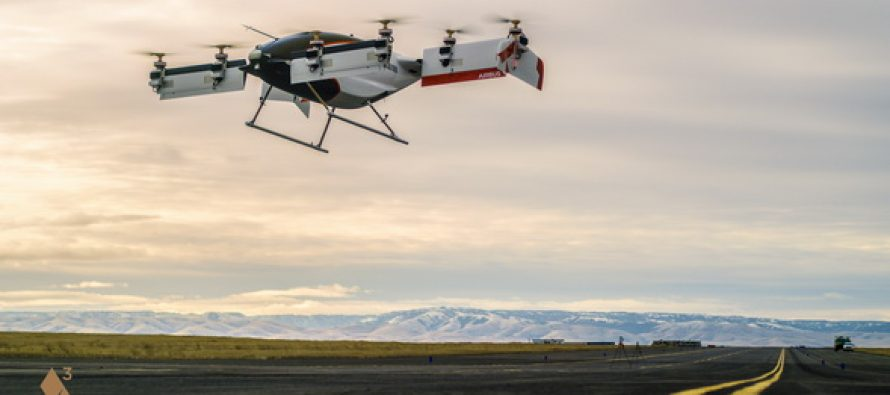 Vahana, the Self-Piloted, eVTOL aircraft from A³ by Airbus, Successfully Completes First Full-Scale Test Flight