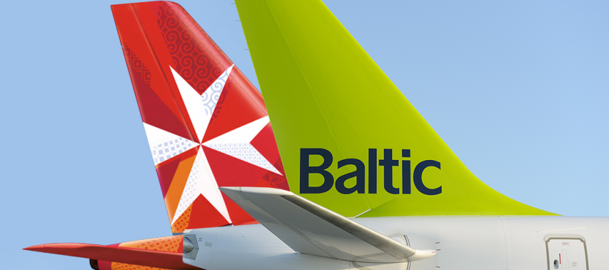 Air Malta and airBaltic to begin codeshare flights
