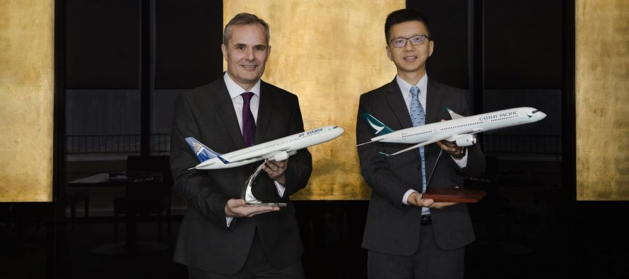Cathay Pacific and Air Astana announce new codeshare partnership