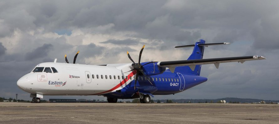 NAC delivers one ATR 72-600, MSN 1482, to Eastern Airways on lease