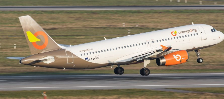 Air Charter Service marketing one A320 for Orange2Fly