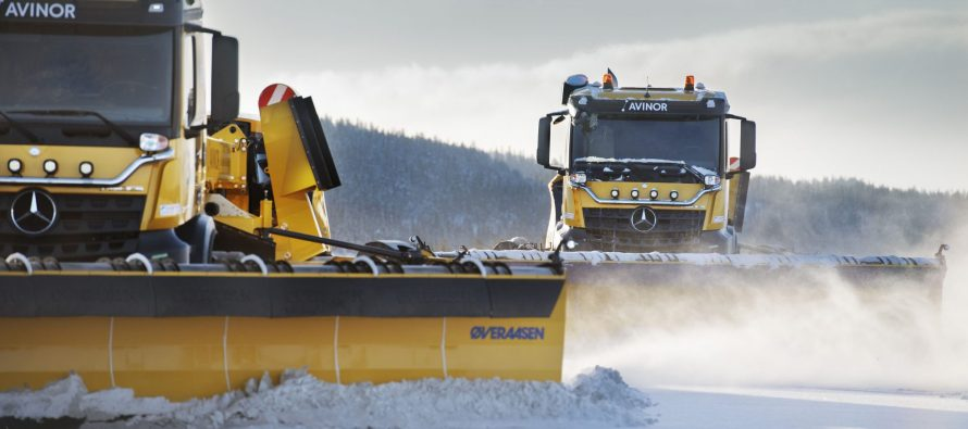 Autonomous snowploughs at airports aim to reduce delays