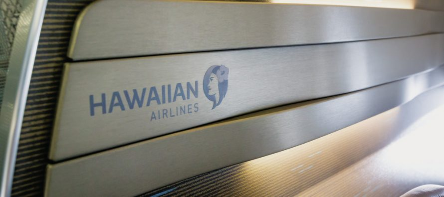 Hawaiian Airlines receives its first U.S.-produced aircraft