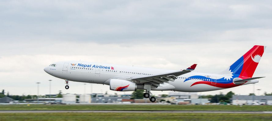 Nepal Airlines takes delivery of its first A330
