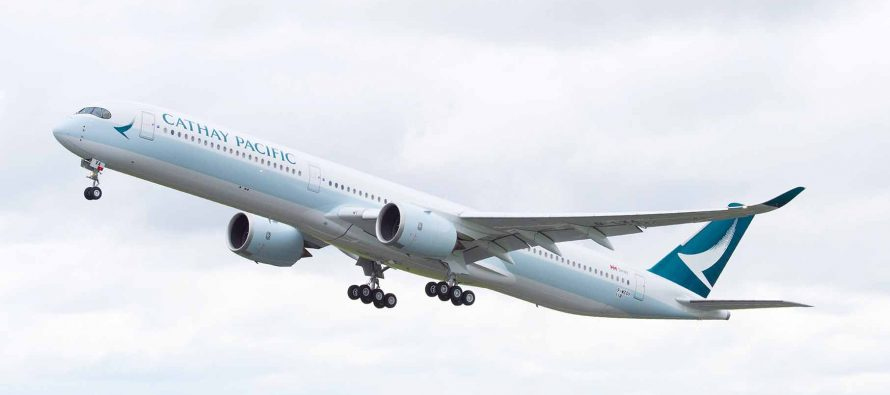 Cathay Pacific becomes second operator of the A350-1000 widebody