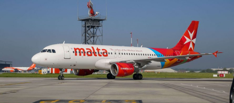 Air Malta's new Airbus A320neo joins its fleet
