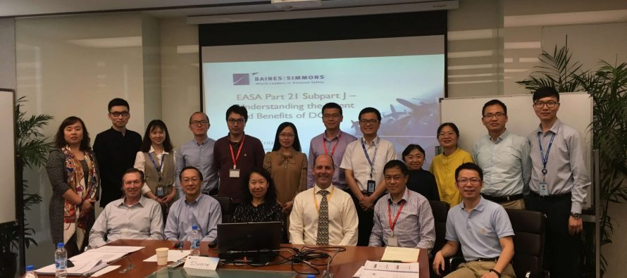 Baines Simmons delivers Part 21 training to COMAC in Shanghai
