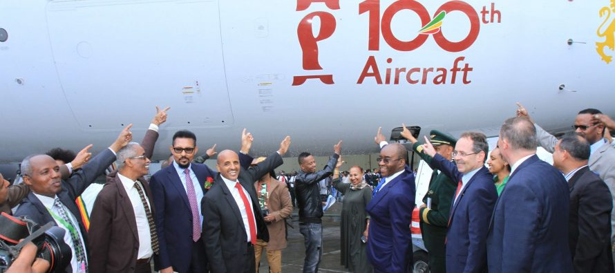 Ethiopian takes delivery of its 100th aircraft