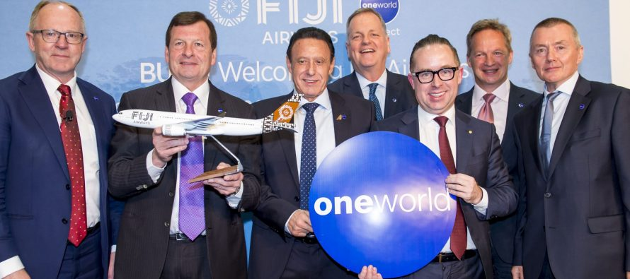 oneworld launches oneworld connect with Fiji Airways