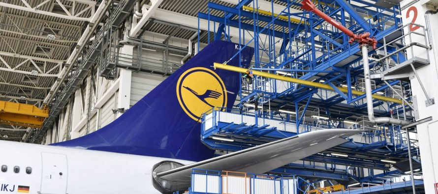 New long-haul tail dock in operation at maintenance base in Munich