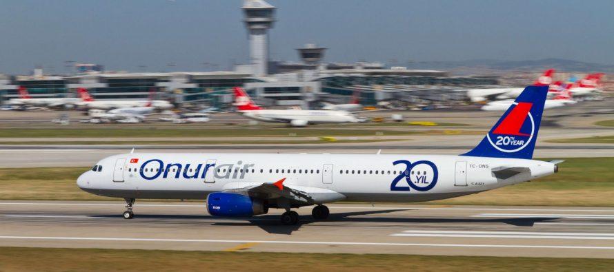 Vallair leases three Airbus A321s to Onur Air in Turkey