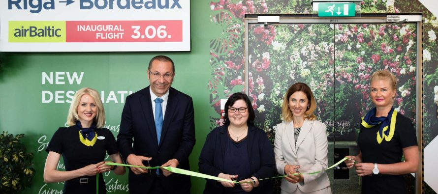 airBaltic launches flights from Riga to Bordeaux