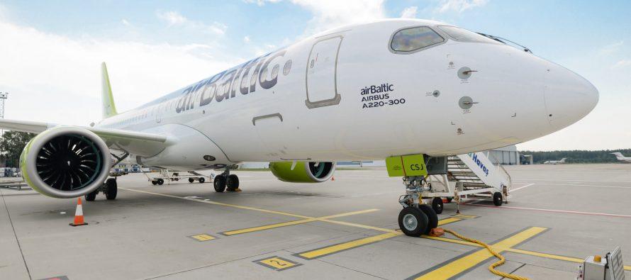 airBaltic reports half year revenue
