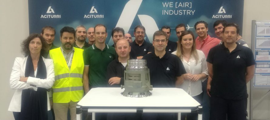 First delivery of HUB P814 to ITP Aero