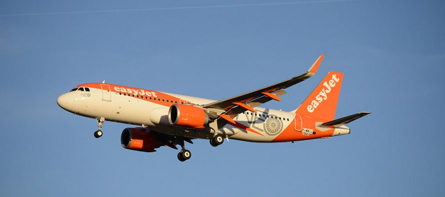 easyJet reports profits for year ending 30 September 2018
