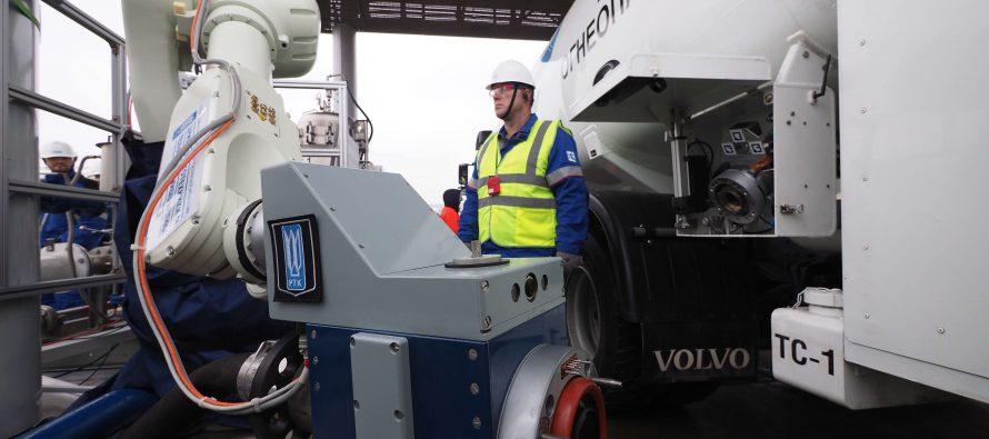 Gazprom Neft reveals concept of robotic fuel station
