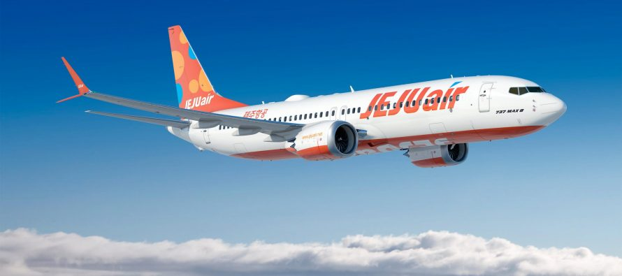 Jeju Air orders up to 50 737Max 8s