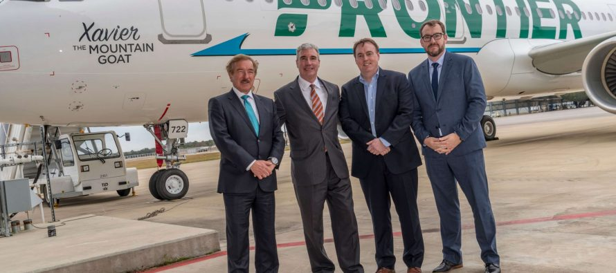 Frontier Airlines takes delivery of one new A321-200