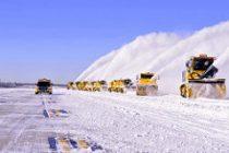 Freezing weather cancels flights