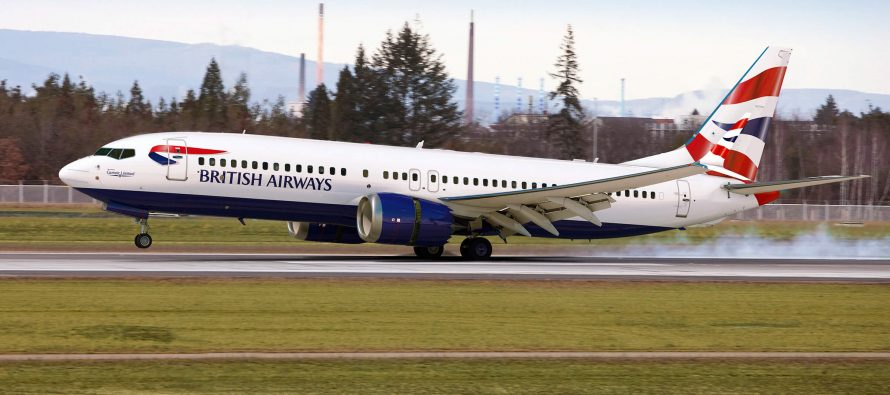 Boeing and Comair debut airline's first 737 MAX