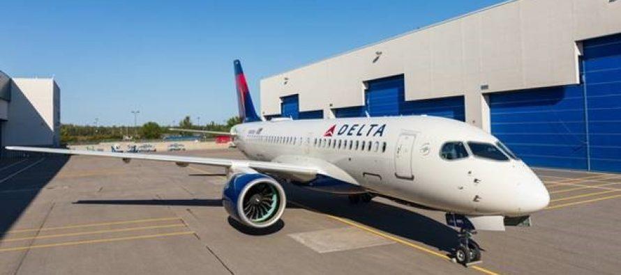 Delta Air Lines A220 makes inaugural flight