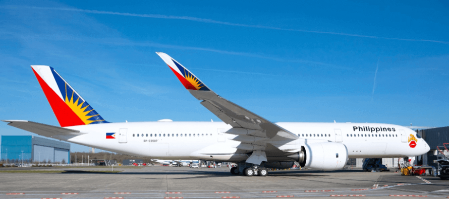 Goshawk delivers its first Airbus A350-900 to PAL
