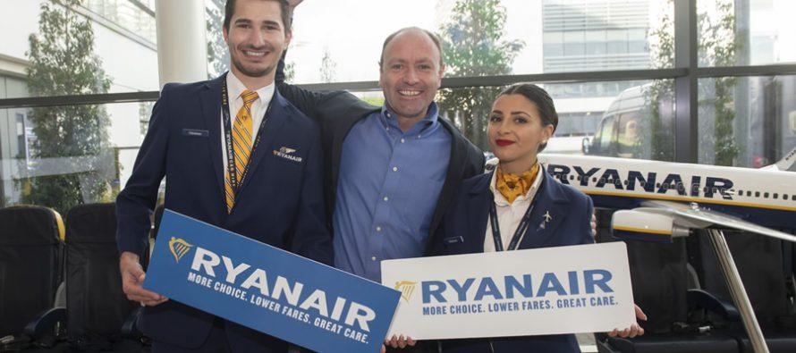 Ryanair launches 2019 customer care improvements
