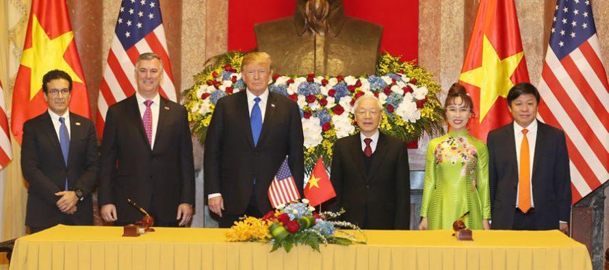Vietnam-US summit brings aviation deals