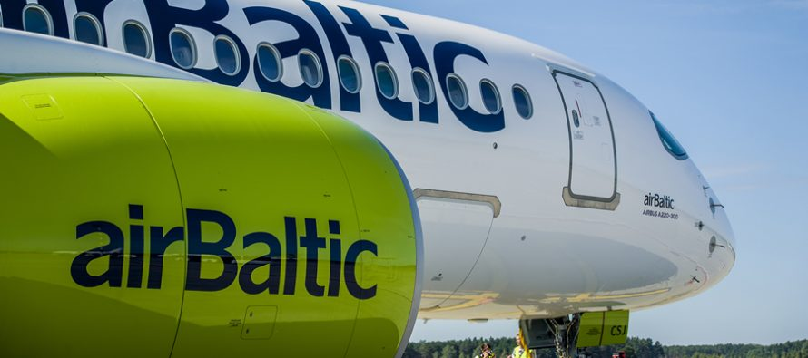 AirBaltic takes delivery of new A220-300