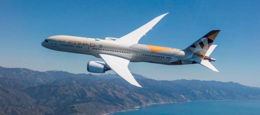 Etihad Airways introduces Boeing 787 Dreamliner and upgrades services