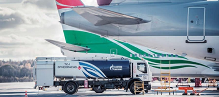 Gazprom Neft increased retail sales of jet fuel by 11% in 2018