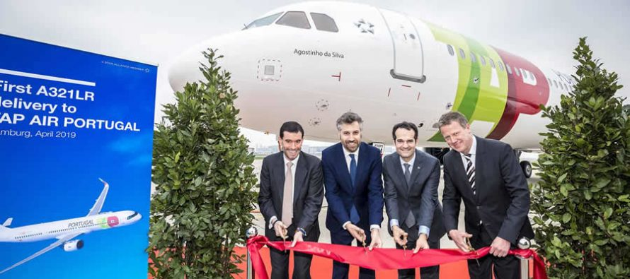 TAP Air Portugal takes delivery of its first A321LR