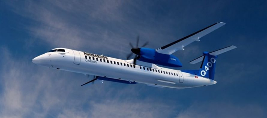 Bombardier signs firm purchase agreement for six Q400s