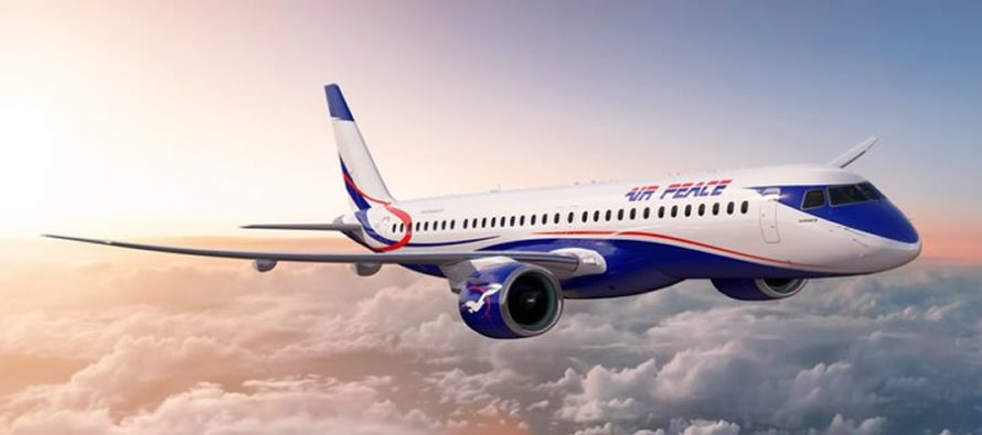 Air Peace selects the E195-E2, becoming the first E2 operator in Africa