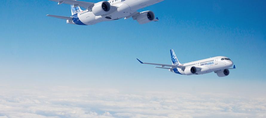 Airbus raises A220 maximum take-off weight