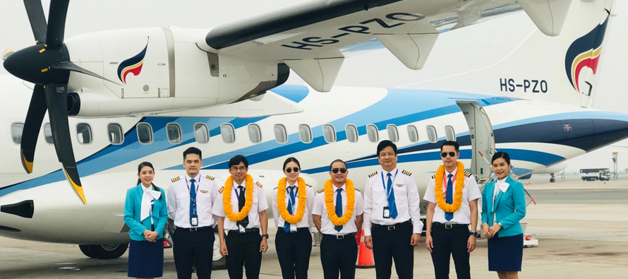 Bangkok Airways reports Q1 2019 results; adds one ATR 72-600