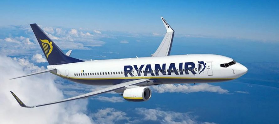 Ryanair COO to step down at the end of 2019