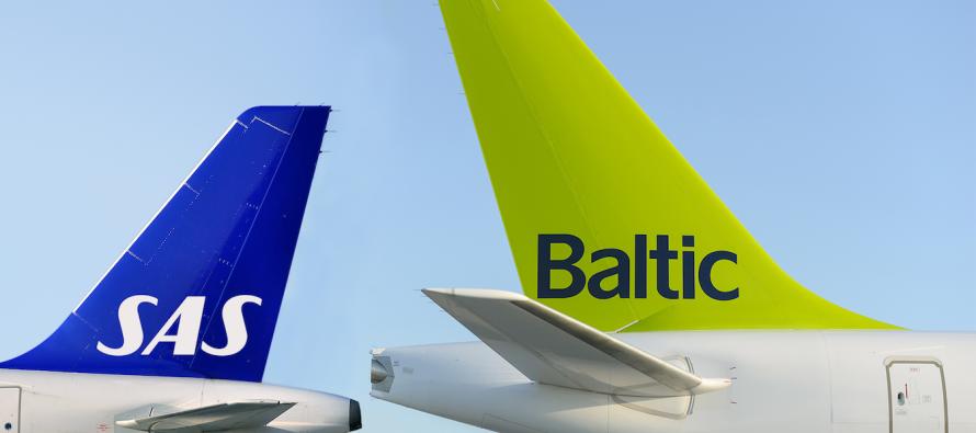 airBaltic to start codeshare flights with SAS