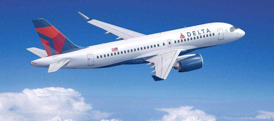 Delta Airlines orders five A220-100 aircraft