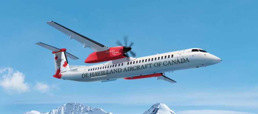 Canada's De Havilland Aircraft delivers Dash 8-400 to Kazakhstan's Qazaq Air