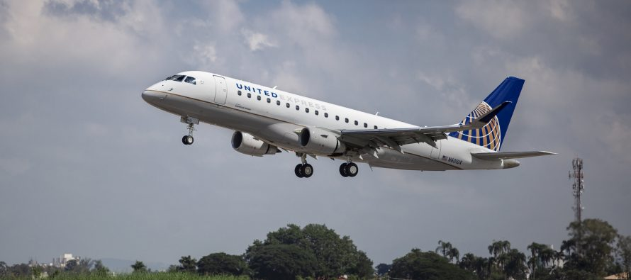 ExpressJet Airlines introduces Embraer E175 to fleet
