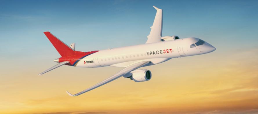 Mitsubishi launches SpaceJet, renaming its MRJ 90 program