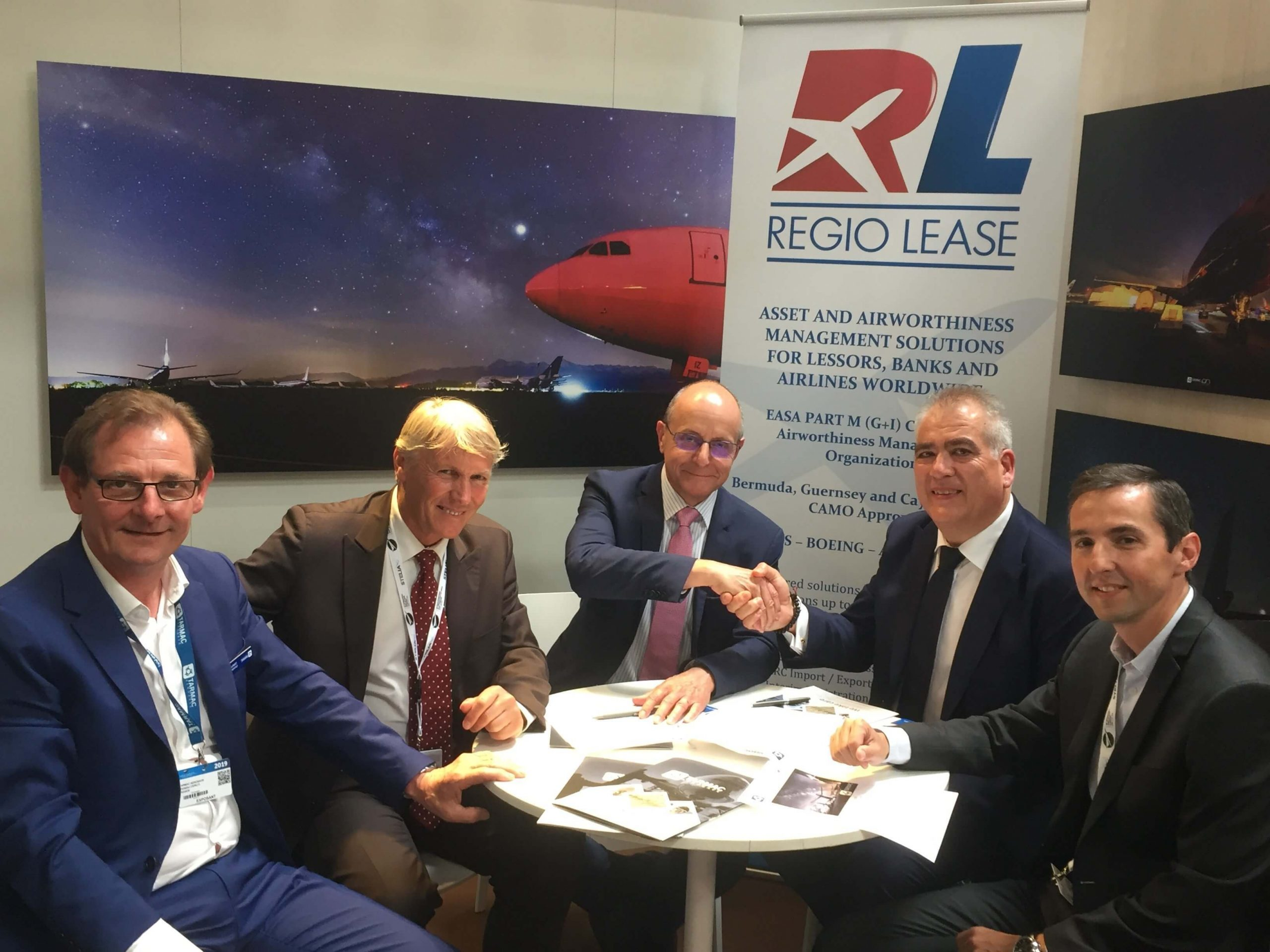 Tarmac Aerosave partners with Regio Lease on aircraft transitions