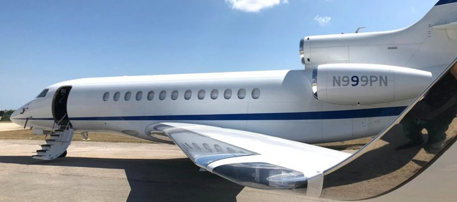 Planet Nine takes delivery of fifth Dassault Falcon 7X aircraft